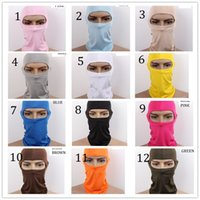 Wholesale Outdoor Sports Balaclava Mask Windproof Winter Sport Face Mask Balaclava Hat for Cycling Skiing Snowboarding colors