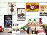 antique ford - Tin signs Ford Mustang Car cc Garage Motor Gas Oil Decor Hot Road Pub Shop Store Wall Decor