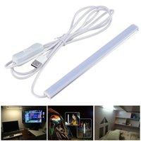 Wholesale 18 cm V USB LED Desk Lamp SMD2835 Night Study Reading Book Light