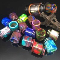 Wholesale Vaporizer Tfv8 drip tips Mouthpiece colorful Epoxy Resin drip tip for vape Smok TFV8 and Tfv8 Big Baby Tank