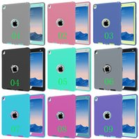 abs plastic safe - For iPad Pro Defender Armor shockproof Robot Hard cover Case Safe Extreme Heavy Duty silicone cover