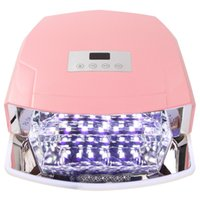 automatic tray - MAKARTT W LED UV Nail Dryer Nail Lamp for Gel Polishes with Automatic Sensor Three Timer Settings Imbedded Sliding Tray E0826
