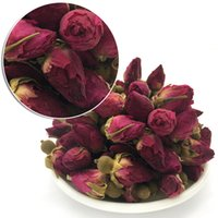 2017 100% Organic Loose Health Rouge Rosebud Rose Bud Herbal Flower-Tea Séché Nouveau