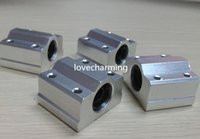 Wholesale 4pcs SC20UU SCS20UU mm Linear Slide Block for DIY CNC Router Linear Ball Bearing