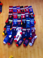 Wholesale Unisex Men or Women Baseball Socks Stripe Deuce Socks Cheap Machine wash Sock Men s Size Women s Size