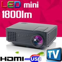 big movie theater - Big Discount Home Theater Cinema uC46 HD P TV Video Movie LCD Digital HDMI USB mini LED Projector Proyector Beamer