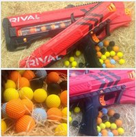 Wholesale Compatible Gun Rounds Bullet Balls For Rival Zeus Apollo Refill Red Children s Day Gift