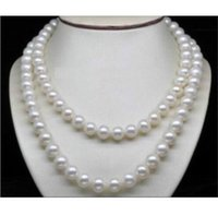aa twist - Long quot Natural AA mm white south sea pearl necklace k