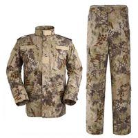 Wholesale Mandrake Tactical Jacket Sets Cargo SHIRT PANTS Camouflage Combat Uniform Us Army Airsoft Camo BDU Kryptek Camo