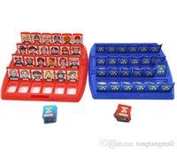 Qu'est-ce? Party Family Board Game Classique Guess qui font face à des joueurs amusants Connaitre Classic Kids Game Game pour 2+ DHL gratuite