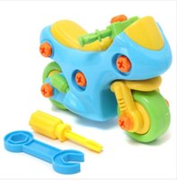 Wholesale Motocycle Shape Kids Child Baby Boy Disassembly Assembly Play Games Toy Gift Perfect Gift For Your Children