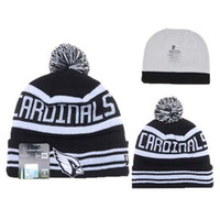 Wholesale Men Football Cardinals Beanies high quality Grey