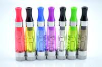 Venta al por mayor-5pcs caliente CE4 + atomizador de cigarrillo electrónico CE6 e cig caben todos los eGo EVOD batería recargable de la serie 510 CE4 + Vaporizador