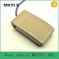 Wholesale MKYDT1 automatic reset nonslip VAC smart security single explosion proof momentary action foot switch with CE