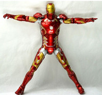 alliance systems - Domestic optimal system is the avengers alliance play arts Iron Man blue instead Meubles peut éclairer