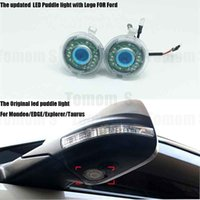 Wholesale 2X LED UNDER MIRROR LED PUDDLE LIGHT LAMP For FORD Mondeo EDGE Taurus Explorer Led rearMirror ghost shadow light car styling