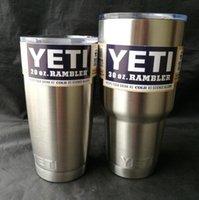 Wholesale 2016 Hot Sale Rambler Tumbler oz oz YETI Cups Cars Beer Mug Large Capacity Mug Tumblerful