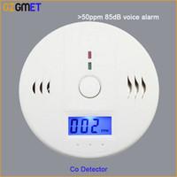 Wholesale High Sensitive ppm dB timely voice alert LCD Digital display Carbon Monoxide Detector indoor CO alarm Sensor