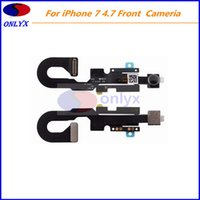 Wholesale For iphone front facing cameria proximity light sensor flex cable iphone original flex cable ribbon replacement parts
