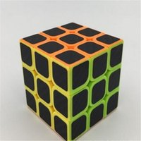 Wholesale Learning Toys Cube Magic Kids Plastic Speed Cube Carbon Fiber Sticker for Smooth Magic Cube Puzzles Intelligence Toys