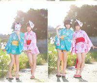 bakemonogatari cosplay - Cosplay costume halloween costumes Fantasy Bakemonogatari Shorts bathrobe kimono costume for party in stock customized