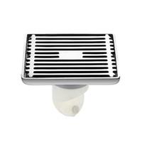 Wholesale BLH Outdoor Bathroom Fixture Stainless Steel Shower Floor Drain Brushed Nickel Filtro Ducha Shower Hair Filter