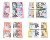 australian gifts souvenirs - 100Pcs Australian Trainings Banknotes Home Arts Crafts Banks Staff Collect Learning Banknotes Hot Sales Christmas Arts Gifts