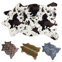animal print area rug - Hot Sale Animal Printed Carpet Creative Floor Mat Household Bedroom Parlor Area Rugs Machine Washable Rugs JI0203