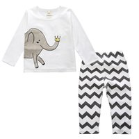 baby sleep wear - 8 Styles Maternity Boutique clothing Baby pajamas Kids pyjamas Boys girls sleeping wear cotton Autumn winter homewear