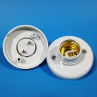 ac plastics - E27 Socket Lamp Holders WHITE AC V Plastic Lighting Accessories Years Warranty Lamp Bases with CE ROHS