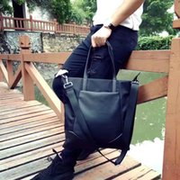 Wholesale Men and women with the general section of the Oxford with leather bags shoulder bag hand held large capacity travel bags travel essential