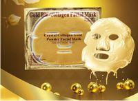 Face aa treatment - 250pcsGold Powder Collagen Albumen Crystal facial Mask Girl Woman Skin Care Gel face mask masks Facial Peels AA