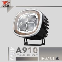 accessories hilux - LYC accessories car A910 IP67 w lm external light high power led headlight toyota hilux x4 accessories