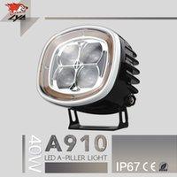 Compre 4x4 accessories toyota-LYC acessórios carro A910 IP67 40w 2500lm luz externa de alta potência levou farol toyota hilux 4x4 acessórios