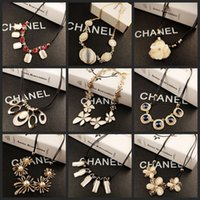 batch shop - Korean opal sweater chain necklace with short chain clavicle mixed batch of yuan shop direct manufacturers