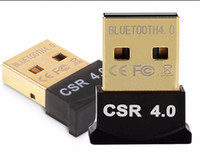 Wholesale USB Bluetooth Adapter V4 Dual Mode Wireless Dongle Free Driver USB2 m Mbps for Windows