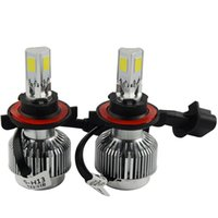 Wholesale One sets of high quality LED headlights all in a A336 HB4 car LED headlights fog COB LM W K LED headlamp