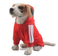 Wholesale High quality For Dog Cat Puppy Pet Clothing pet Clothes Warm Coat Apparel Hoodies Sweater Soft