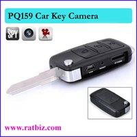 Wholesale Car Key Hidden camera spy camera Mini Camera DVR Key Chain HD Camcorder Video Recorder DV PQ159