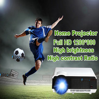 best digital television - Watch the soccer Lumens LED LCD projector HD P televisions video projector support HDMI VGA AV USB Best home cinema