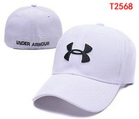 under armour hat - Under Hats Fashion Street Headwear Stretch Fitted caps Armour custom men women baseball caps drop shipping top quality