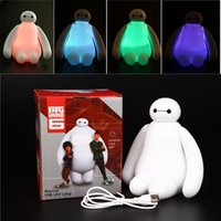 big lamp switch - Color Changing Big Hero Baymax USB LED Table Light Creative Desk Lamp cm Cartoon Nightlight Kids Gift Home Decor LEG_71X