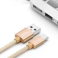achat en gros de livraison gratuite xiaomi-Micro usb Cable Chargeur 2A Tressé Nylon données Sync usb câble de charge pour Samsung Huawei Xiaomi Sony téléphones cellulaires Livraison gratuite