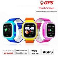 Precio de Dispositivo de niño perdido-Kids GPS tracker Q90 Pantalla táctil WIFI Smart Watch teléfono Child SOS Llamada Ubicación Finder Dispositivo Anti Lost Monitor para regalo de bebé