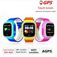 Kids GPS tracker Q90 Pantalla táctil WIFI Smart Watch teléfono Child SOS Llamada Ubicación Finder Dispositivo Anti Lost Monitor para regalo de bebé