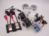 al por mayor lámpara con lente de xenón-H1 H4 H7 2.5 pulgadas Mini WST Bi-xenón HID Bi xenón Proyector Lámpara de xenón para Kit de faros de coche 4300k 6000k 8000k