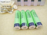 Wholesale 5PCS Authentic Guarantee Protected NCR B Battery V mAh Rechargeable Battery For Flashlight