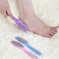 Foot File hard tools - Feet Rasp Callus File Hard Dead Skin Remover Metal Exfoliating Pedicure Tool Foot Care Tools in Kits ZA1686