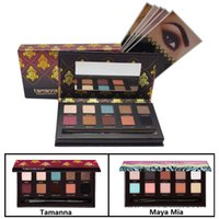 Wholesale High Quality Tamanna Maya Mia Eyeshadow Palette Kit Color Ana Makeup Eye Shadow Highlighters Palette With Brush