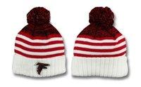atlanta falcons team - 2017 Newst winter Hot Falcons Football Atlanta Beanies Football Beanies Knit Beanie Hats Warm Winter Caps Sports Team Hats